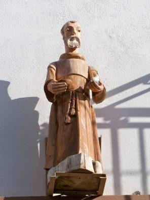 Carved Wooden Saint in Todos Santos 3