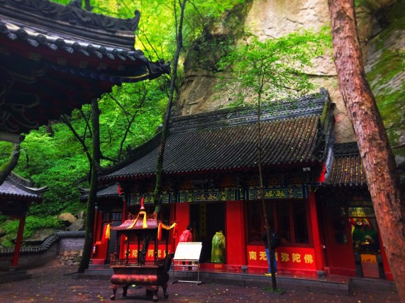Buddhist Temples at Taibai Mountain National Park 5