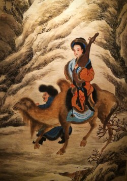Chinese Art Tapestry in Tangbo Museum 1