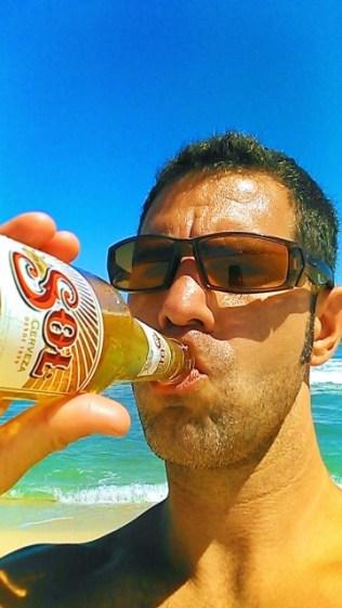 Chris Taylor at East Cape Beach San Jose del Cabo 1