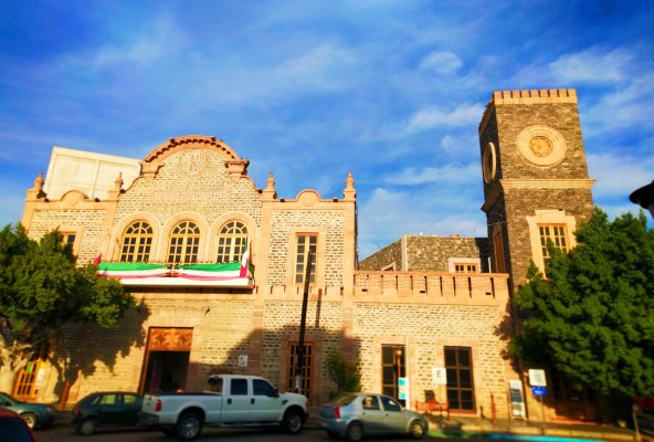 Historical building in La Paz BCS Mexico 2