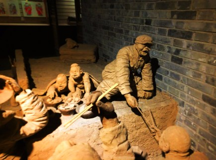 Labor sculpture in Tangbo Art Museum Xian 1