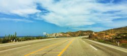 Mexico Highway 1 at Playa Pacific Todos Santos Baja California Sur 1