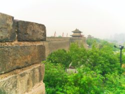 Ramparts and Towers at Xian City Wall 4