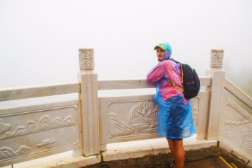 Rob Taylor in the Freezing Fog at Taibai Mountain National Park Shaanxi 1