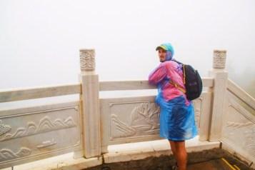 Rob Taylor in the Freezing Fog at Taibai Mountain National Park Shaanxi 1