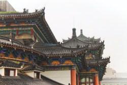 View from biking on top of Xian City Wall 3