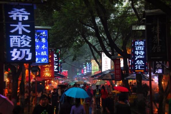 Xian Muslim Quarter Street Market 1