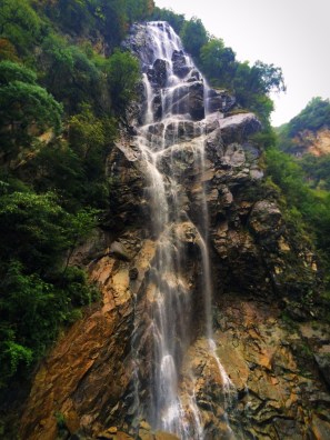 Waterfall at Taibai Mountain National Park 1
