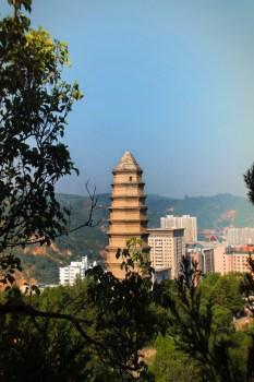 Baota Pagoda Yanan Shaanxi 2