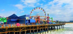 Ferris Wheel at Pacific Park Santa Monica Pier 2