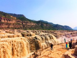 Hukou Falls National Park Shaanxi Province 2