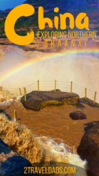 There is more to Shaanxi Province than Xi'an and the Terracotta Army. Northern Shaanxi Province is home to Hukou Falls National Park and the beautiful, historic city of Yanan. Pagodas, farmland and waterfalls await in Northern Shaanxi Province. 2traveldads.com