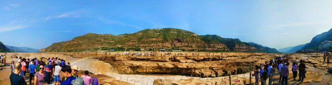 Panoraminc at Hukou Falls National Park 1