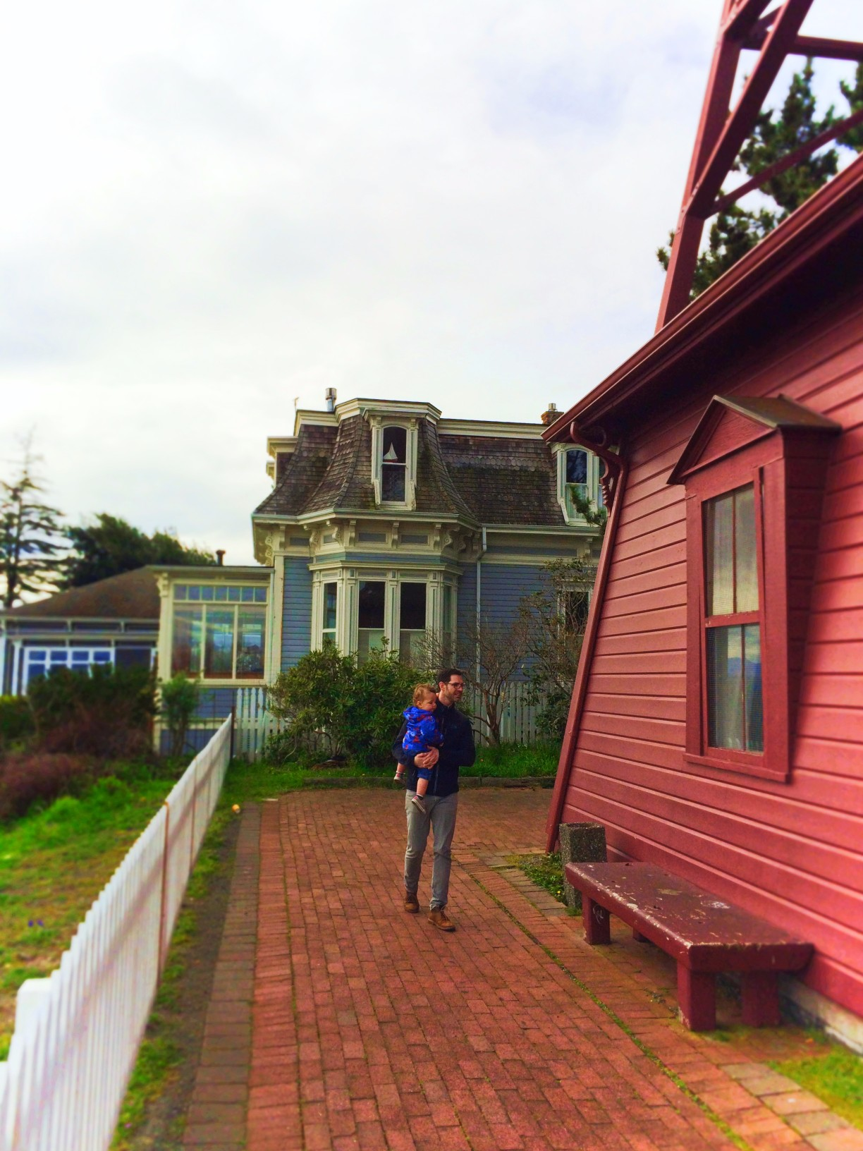 Taylor Family at Old Belltower Uptown Port Townsend 1