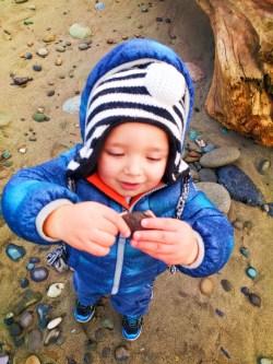 Taylor Kids at Dungeness Spit National Wildlife Refuge Sequim 11