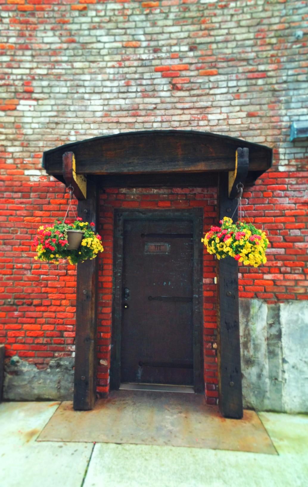 Victorian Seaport brick buildings Port Townsend 2