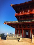 Watchtower Drumtower at Baota Pagoda Yanan Shaanxi 3