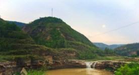 Waterfall near Yanan Shaanxi 1