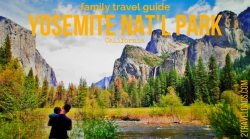 Yosemite National Park in California is a great destination for experiencing the nature of the Sierra Nevada mountains. Perfect for family travel, from camping to lodges, hiking to guided tours. 2traveldads.com