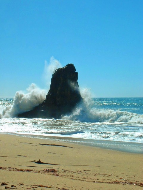 Beach at Pigeon Point Northern California Coast road trip 1