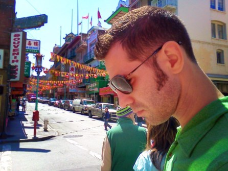 Chris Taylor in Chinatown San Francisco 1