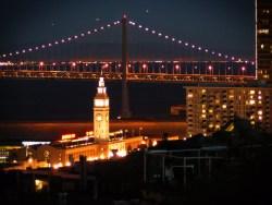 Embarcadero Ferry Building Bay Bridge San Francisco 1