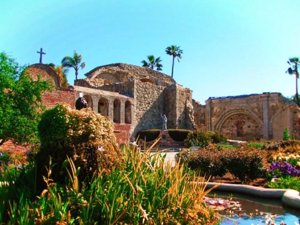 Gardens at Mission San Juan Capistrano 1