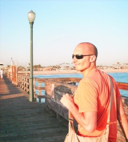 Rob Taylor on Long Beach Pier 1