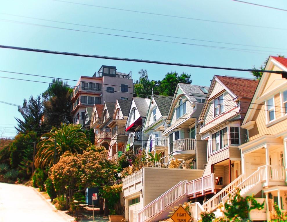 Row Houses in the Castro San Francisco 1