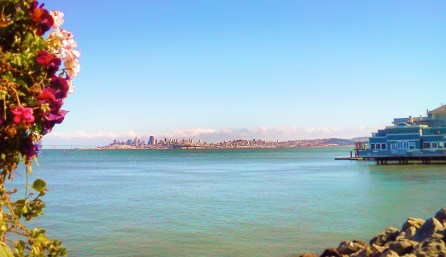 San Francisco Skyline from Sausalito 1