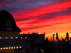 Sunset at the Hotel Del Coronado San Diego 1