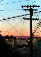 Telegraph Hill at Sunset San Francisco 1