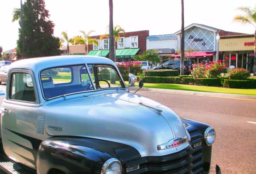 Vintage Truck in Coronado San Diego 1
