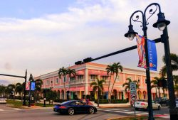 Colorful Buildings in Naples Beach Florida 1