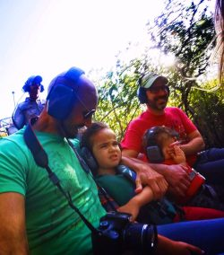 Taylor Family at Airboat Ride Everglades City Florida 9