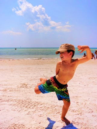 Taylor Family at Fort Myers Beach 1