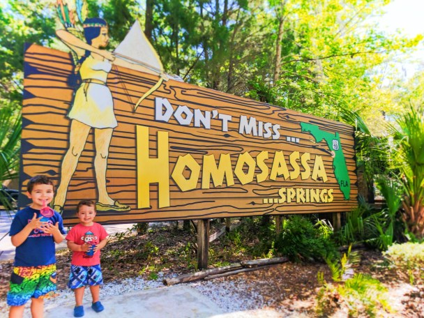 Taylor Family at Homosassa Springs State Park Florida 1
