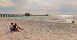 Taylor Family at Naples Beach Florida 2