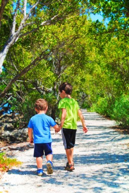 Taylor Family on Nature Trail at Biscayne National Park 1