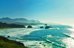 Cannon Beach Oregon from Ecola State Park