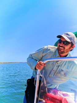 Captain Zach on Matanzas River during St Augustine Ecotours 1