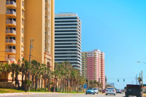 Colorful Hotels in Daytona Beach Florida 1