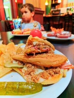 Cuban Sandwich at Freebridge Brewing The Dalles 1