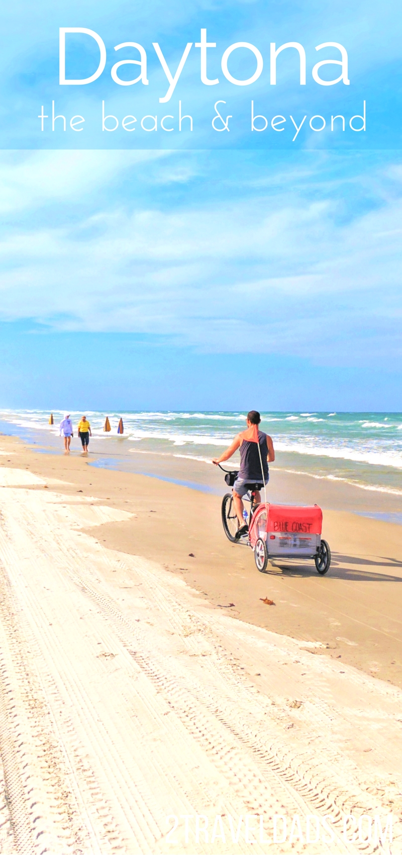 There's more to Daytona Beach than the beach itself. Family travel to Dayton includes Florida nature, the perfect lighthouse, freshwater springs and pockets of fun culture. 2traveldads.com
