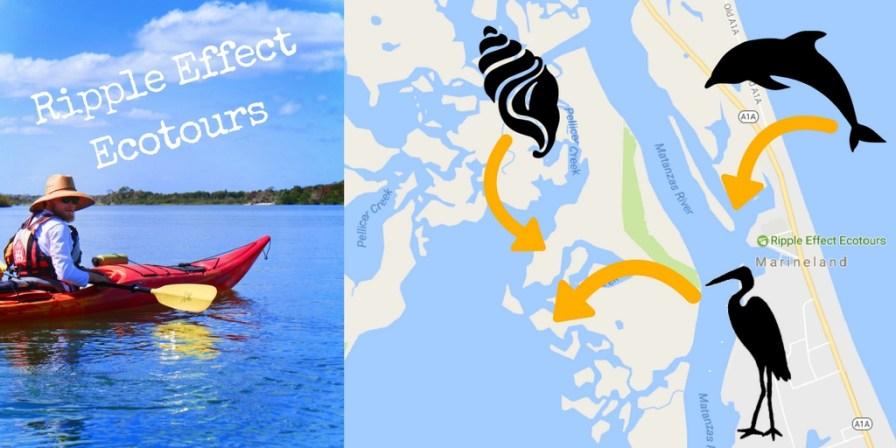 Ripple Effect Ecotours in Florida Marineland Map