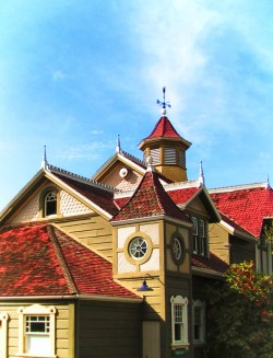 Red Roofs of Winchester Mystery House San Jose 1