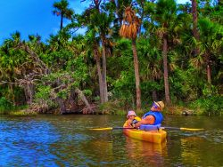 Taylor Family Kayaking in Tomoka State Park Daytona Beach 10