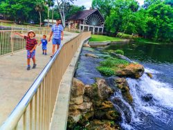 Taylor Family at De Leon Springs State Park Daytona Beach 1