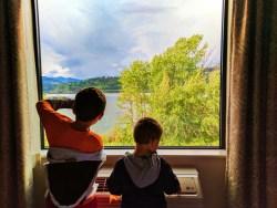 Taylor Family at Hampton Inn and Suites Hood River 1
